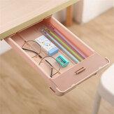 Très grande trousse à crayons sous le tiroir de bureau pâte de rangement Table inférieure boîte papeterie fournitures scolaires étudiants