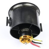 QX-Motor 70mm 6 Blades EDF Unit مع QF2827 2300KV / 3500KV Brushless Motor