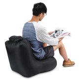 IPRee® 190T polyester 120x60x48cm air chaise pliante gonflable résistant à l'eau canapé charge max 150kg