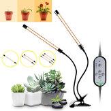 Dimmable 1/2/3 têtes LED cultiver la plante légère 5730 lampe croissante avec clip pour plantes d'intérieur hydroponique