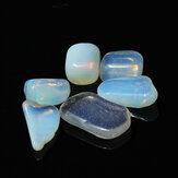 6pcs Polished Crystal Tumbled Stone DIY Design For Decoration