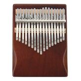 Hudební nástroj pro začátečníky, 17 klíčů ze smrkového dřeva Kalimba ze dřeva