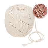2mmx180m Cotton String Twisted Cord Crafting Macrame Rope Decor Hand Braided Wire