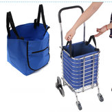 Supermarkt Trolley Shopping Organizer Tote Eco Grocery Extend Cart Clips Herbruikbare Vouwbare Handtas