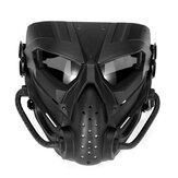 Airsoft Paintball Κυνήγι Μάσκα Tactical Combat Πλήρης Μάσκα προσώπου Μοτοσικλέτα Κράνος Μάσκα Motocross Goggle Στρατιωτικό Πόλεμο Παιχνίδι Προστατευτική Μάσκα