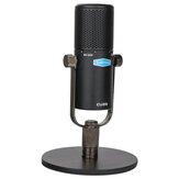 Alctron CU28 USB függesztő vagy asztali kondenzátor mikrofon a stúdió felvételéhez Teljesítmény Élő közvetítés PC Notebook mobiltelefon