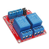 5Pcs 5V 2 Channel Level Trigger Optocoupler Relay Module