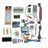 Kits de projeto inicial com UNO R3 Mega 2560 Nano Componentes do kit de placa de ensaio Geekcreit para Arduino - produtos que funcionam com placas Arduino oficiais