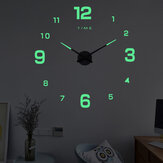 Original              27/37/47Inch DIY Wall Clock Silent Quartz Luminous Wall Night Clocks