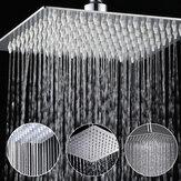 8 Polegada de Aço Inoxidável Banheiro Prata Quadrado Pressurizar Chuvas Chuveiro Acabamento Cromado
