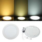 18W Round Ceiling Ultra Thin Panel LED Lamp Down Light Light 85-265V