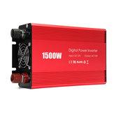 Portable 1500W Car Power Inverter DC 12V to AC 110V Modified Sine Wave Converter