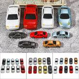 10шт смешанный цвет HO Шкала модель Авто здание поезд декорации