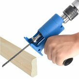 Drillpro Reciprocating Saw Attachment Adapter Change Electric Drill Into Reciprocating Saw for Wood Metal Cutting