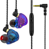 QKZ SK3 Wired Earphone HIFI HD Noise Reduction 11.6MM Dynamic Diver In-Ear Earbuds Sport Gaming Wired Headphones with Mic