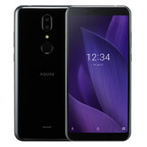 SHARP AQUOS V Global Version 5,9-дюймовые двойные задние камеры FHD + 13MP + 13MP Android 9,0 4 ГБ RAM 64GB ROM Snapdragon 835 Octa Core 4G Смартфон