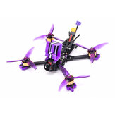 Eachine LAL 5style 220mm 6S Freestyle 5 pouces FPV Racing Drone PNP / BNF F4 Bluetooth FC Caddx Ratel 2307 1850KV Motor 50A Blheli_32 ESC