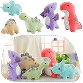 Dinossauro Bonito Colorido Boneca Stuffed Plush Toy Grab Máquina Boneca Meninos e Meninas Presente