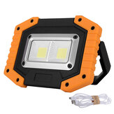 30W LED COB Outdoor IP65 Impermeabile Faro da lavoro campeggio Emergency Lantern Floodlight Flashlight