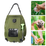 20L Solar Shower Bag Portable Water Storage Bag Sun Compact Heated Outdoor Camping Travel Beach