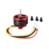 Racerstar BR0802 0802 15000KV 19500KV 25000KV 1-2S Brushless Motor 1mm Shaft untuk Tinywhoop FPV Racing Drone