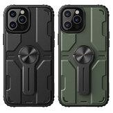 Nillkin for iPhone 12 Pro/12ケースバンパー、取り外し可能なスタンド付き耐衝撃性PC + TPU Protective Case