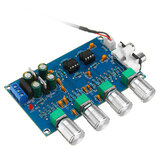 NE5532 C2-001 AC 12-24В Мощность 4 канала Регулировка Усилитель Предварительный усилитель платы настройки