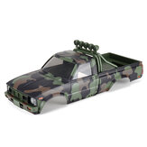 HG P417 1/10 Pickup Truck Spare Body Shell with Accessories A4MQC-03 for Car Vehicles Model Parts