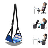 Pillow Footrest Airplane Foot Hammock Travel Fitness Home Office Relaxing Adjustable Portable Feet Rest