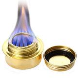 MiniCampingAlcoholCuisinièrePortableCuivre Cuivre Alcool Brûleurs Ultra-léger Four Équipement