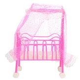 Casa de bonecas mobiliário de sala de cama infantil estabelecidos brinquedos para boneca