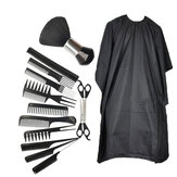 14Pcs Men's Barber Tools Beard Styling Comb Brush Set