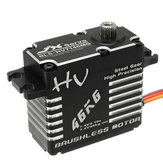 JX BLS-HV7146MG 46KG 180 graus HV High Precision Steel Gear Digital Brushless Servo para RC Robot