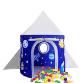 Foldable Princess Castle Play Tent Children Playpen Tent for Indoor Outdoor Toys Storage Bags