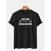 Mens grappige Cartoon rouw karakter korte mouw T-shirts