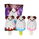 Sanqi Elan Urso Popsicle Ice-lolly Squishy 12 * 5.5 CM Licenciado Lento Rising Soft Brinquedo Com Embalagem