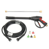 3000PSI High Pressure Spray Gun Kit Wand Lance Water Washer 8M Hose Nozzle Tips