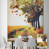 PAG Roller Shutters Autumn Print Painting Roller Blind Background Wall Window Curtain Decor