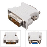 DVI-D (18+1) Dual Link Male to VGA HD15 Female Adapter Converter for PC Laptop