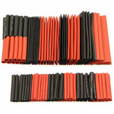 127Pcs Halogen Bebas 2: 1 Heat Shrink Tubing Wire Cable Sleeving Wrap Wire Kit