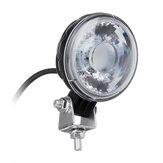 3 polegadas 18 W LED Holofotes luz de trabalho Condução Da Lâmpada Da Motocicleta Offroad SUV ATV