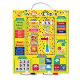 Wetterkalender Magnettafel Gehirnentwicklung Weisheit Lernen Erleuchtung Kreatives Puzzle Montessori Kinderspielzeug