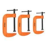 3/4/5PolliciGTipoDispositivodi bloccaggio regolabile con morsetto in legno Gadget per lavorazione del legno fai da te G morsetto heavy duty