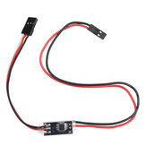 2.7A 1S Dual Way Micro Brush ESC 3.3-6V Winch Reversing with Overheat Out of Control Protection for DIY RC Model