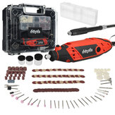 Original              [New Arrival] Mensela RT-W1 130W Rotary Tool Kit Electric Drill Mini Grinder Variable Speed with 200pcs Accessories Flex Shaft and Carrying Case for Grinding, Cutting, Wood Carving, Sanding, and Engraving