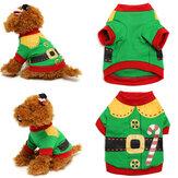 Animal de estimação filhote de cachorro cão gato roupa de Papai trajes de inverno roupas quentes pet casaco de fato jaqueta camisola