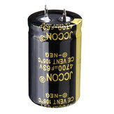 5Pcs 4700UF 63V 25x40mm Radial Aluminium Electrolytic Capacitor High Frequency 105°C