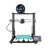 Anet® A8 Plus Semi-DIY New 3D Printer Kit 300*300*350mm Printing Size With Magnetic Movable Screen/Dual Z-axis Support Belt Adjustment