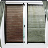 Bamboo Window Blinds Curtain Home Bedroom Privacy Shade Roller Blind 135x60/90CM
