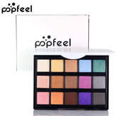 POPFEEL Mini 15 Color Eye Shadow Makeup Hög glans